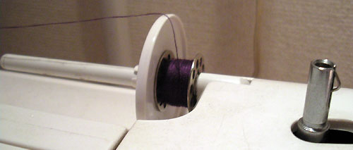 How to wind a mini-spool from a cone