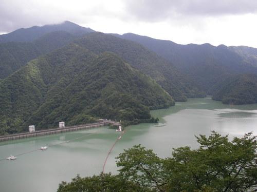 View of Lake Okutama