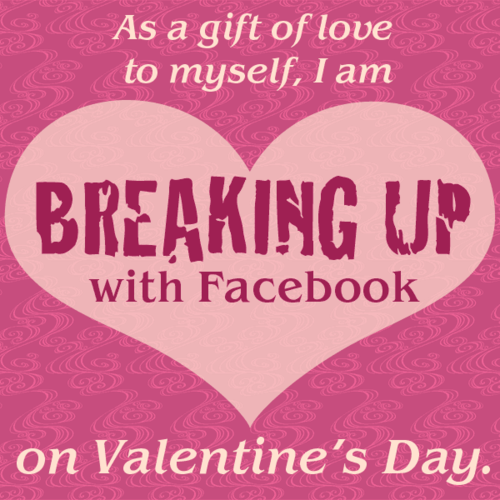Breaking up with Facebook