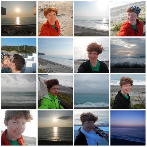 Me, the Sea, and the Sunrise