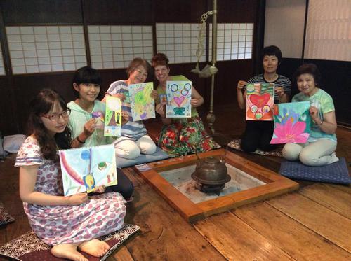 Genesis Art Retreat at the Irori