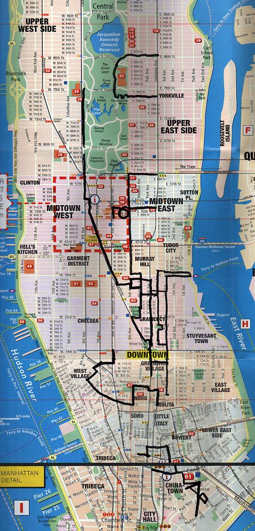 A Week of Walking NYC - Mediatinker