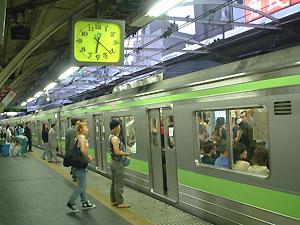 yoyogi commuters